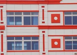 外墙乳胶漆及铝单板氟碳漆工程