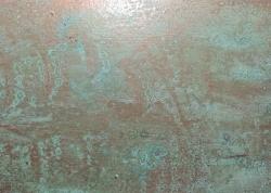 铜锈、铁锈漆喷涂